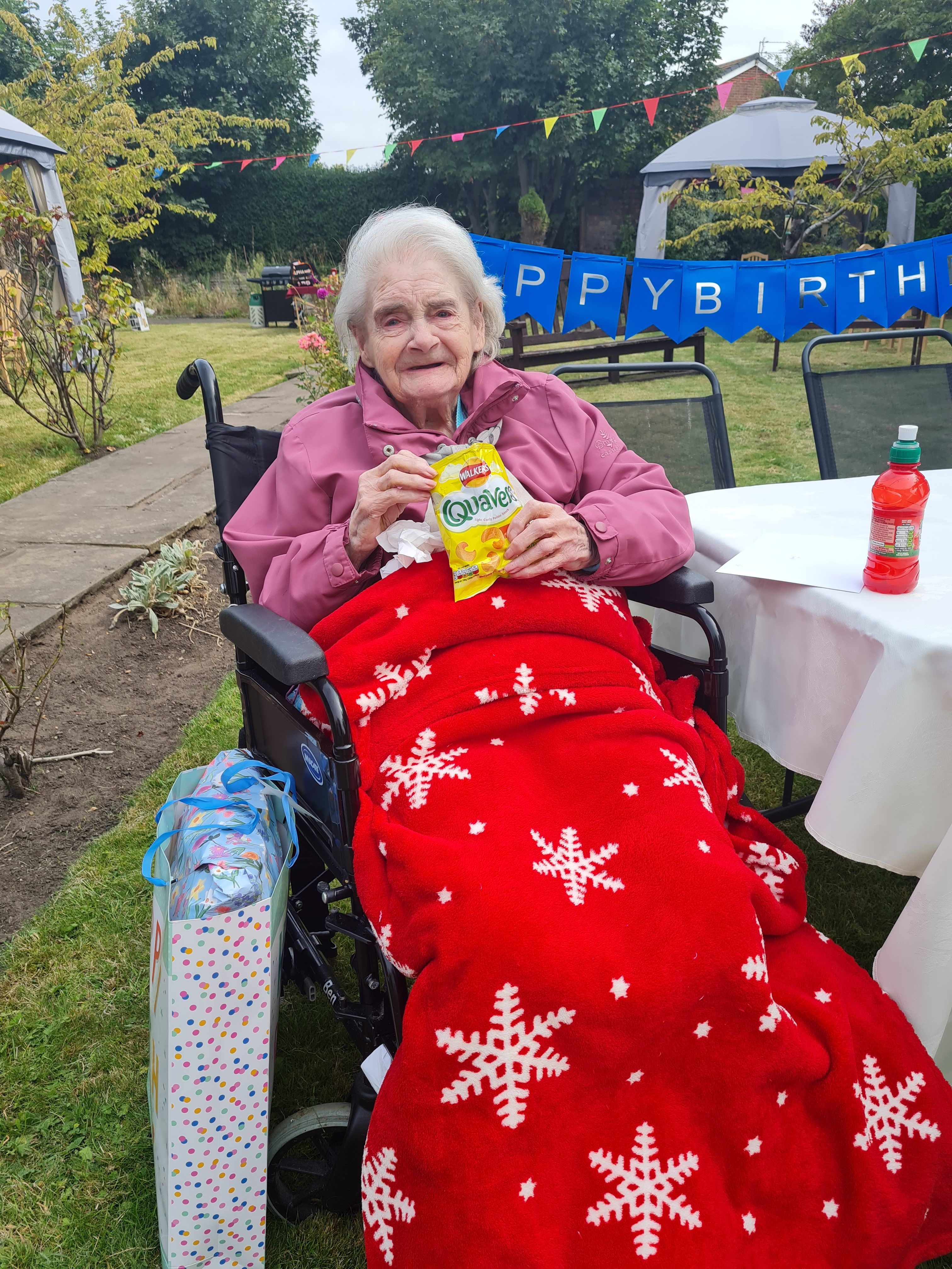 Care home hosts garden fete for residents and families
