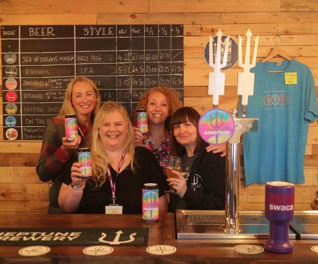 Brewery raises a glass for charity with a new beer