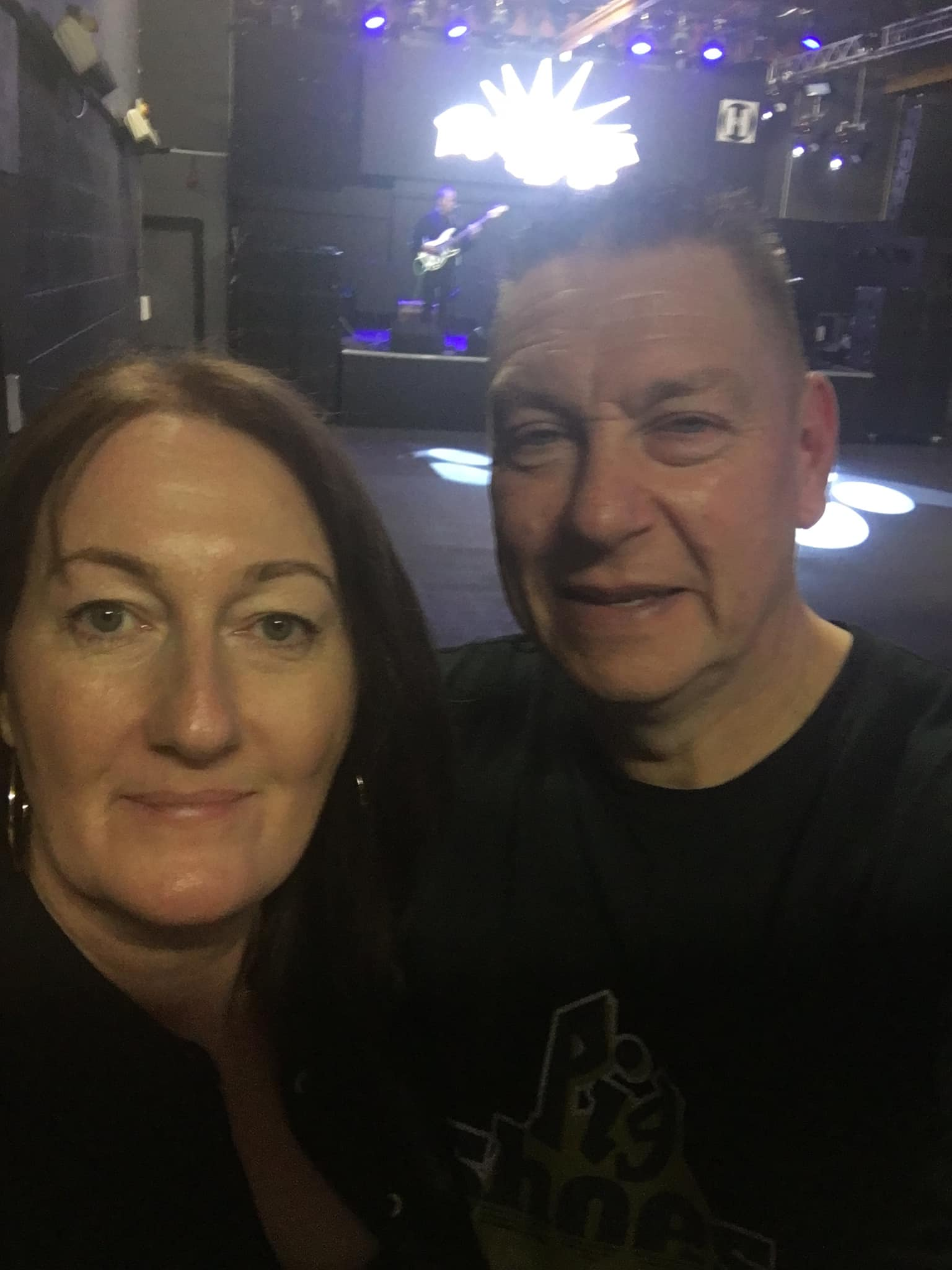 Rock on! Couple raise £3,500 for charity with gig