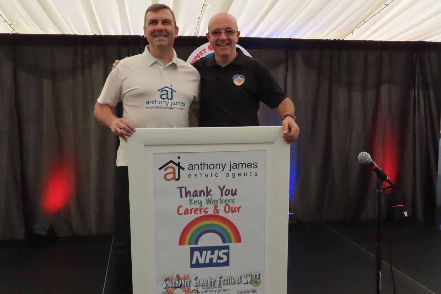 Free 'Thumbs Up For The NHS' comedy bingo night to be held at Southport Comedy Festival