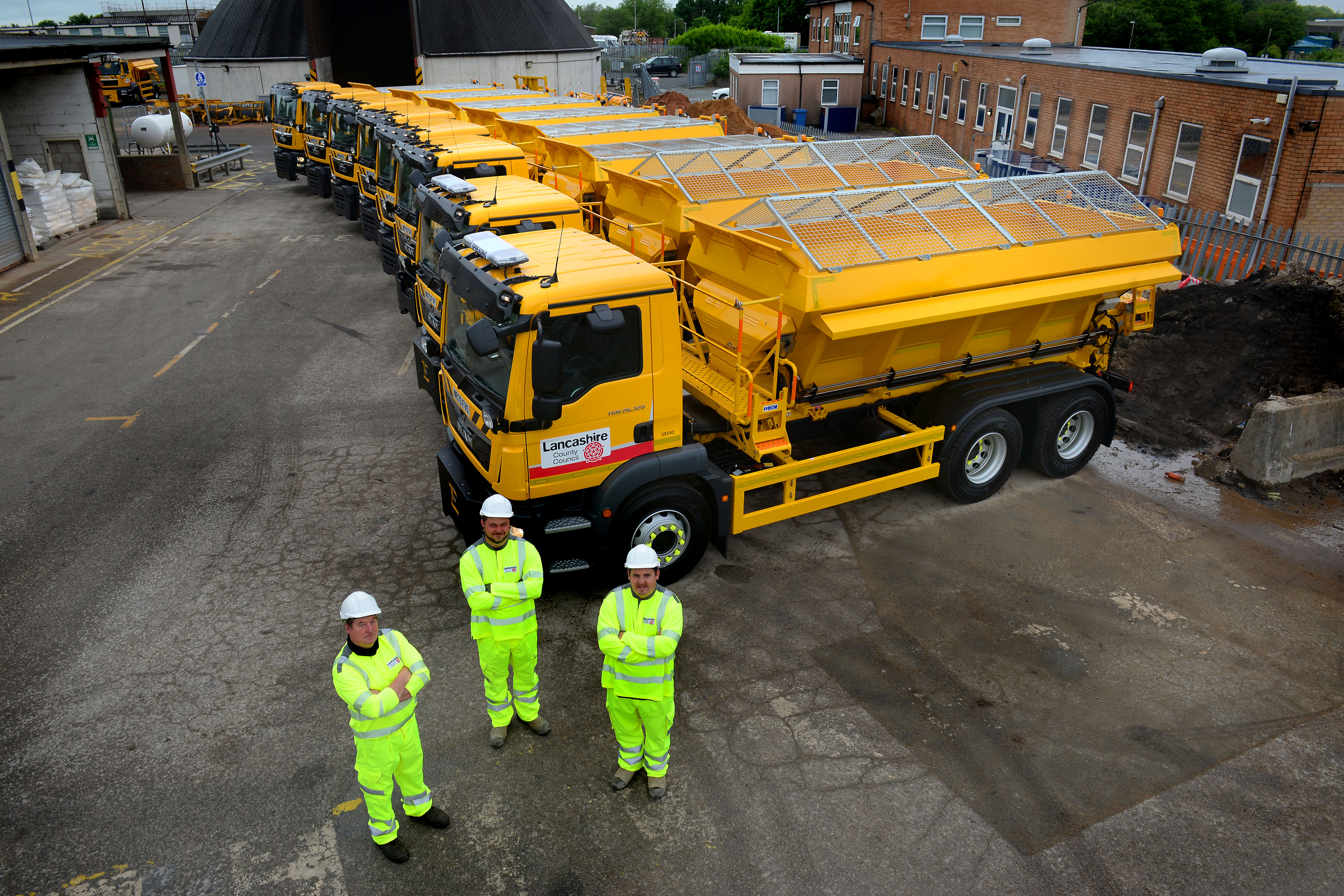Would you like to name a gritter?