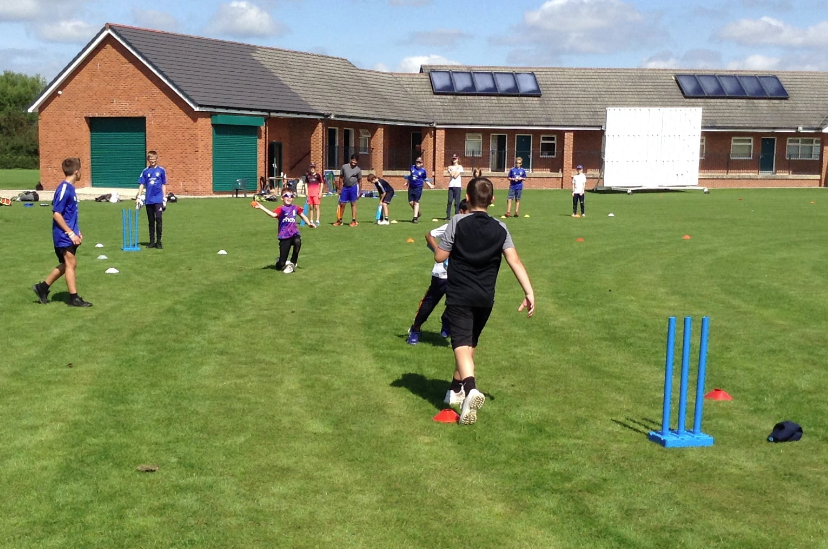 Cricket academy a hit with youngsters in its very first year