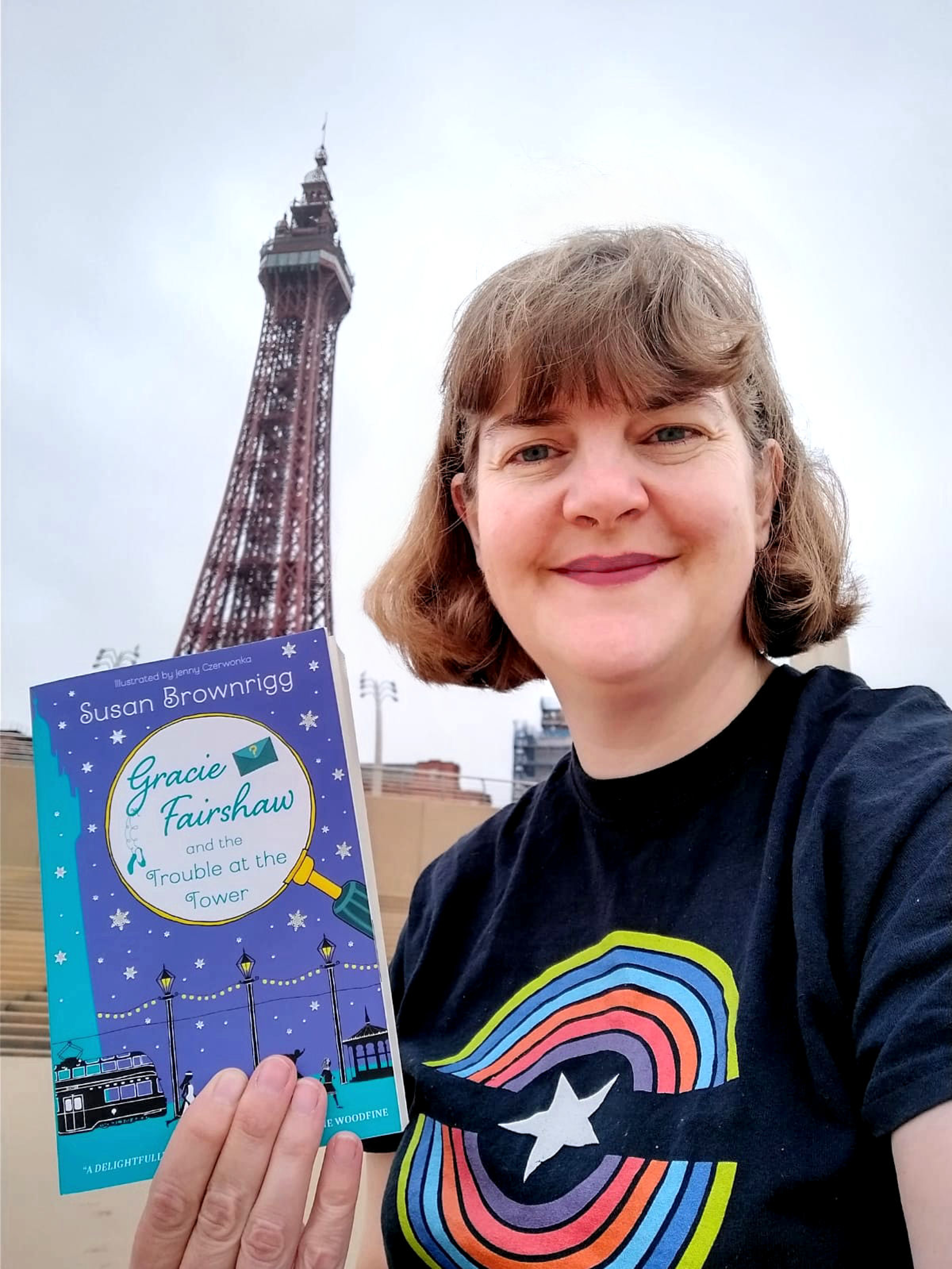 Author hopes new children's book can be towering success!