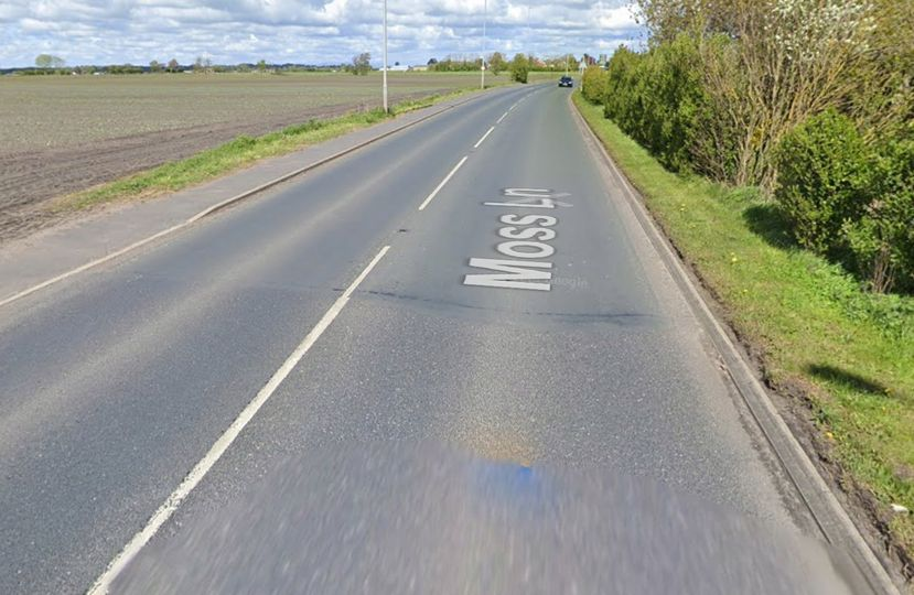 Teenage driver left with serious injuries after car overturned