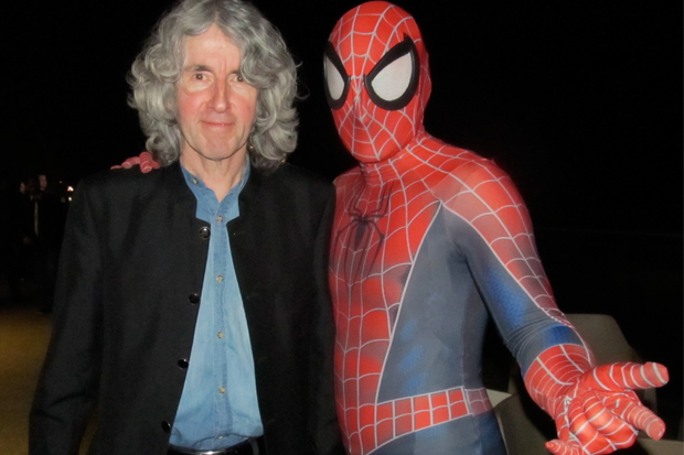 Comic book writer to have book published about his own life