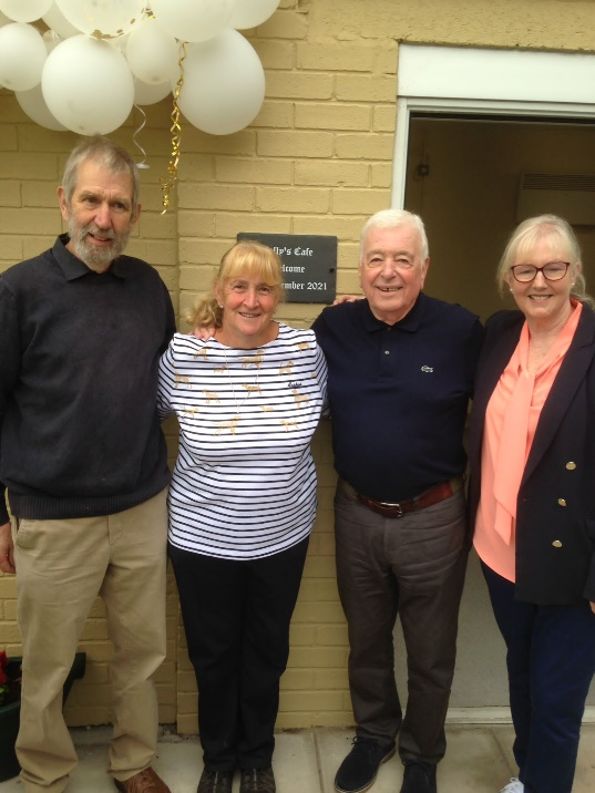 Ex-Reds star Cally can enjoy a cuppa at cafe named in his honour!