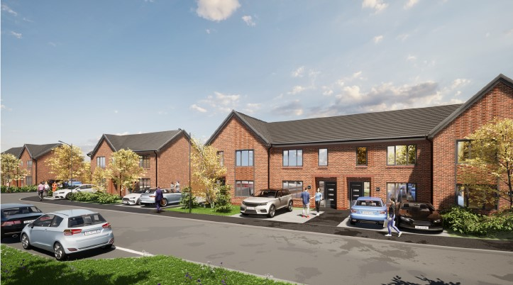 Permission is approved for 50 new homes in Skelmersdale