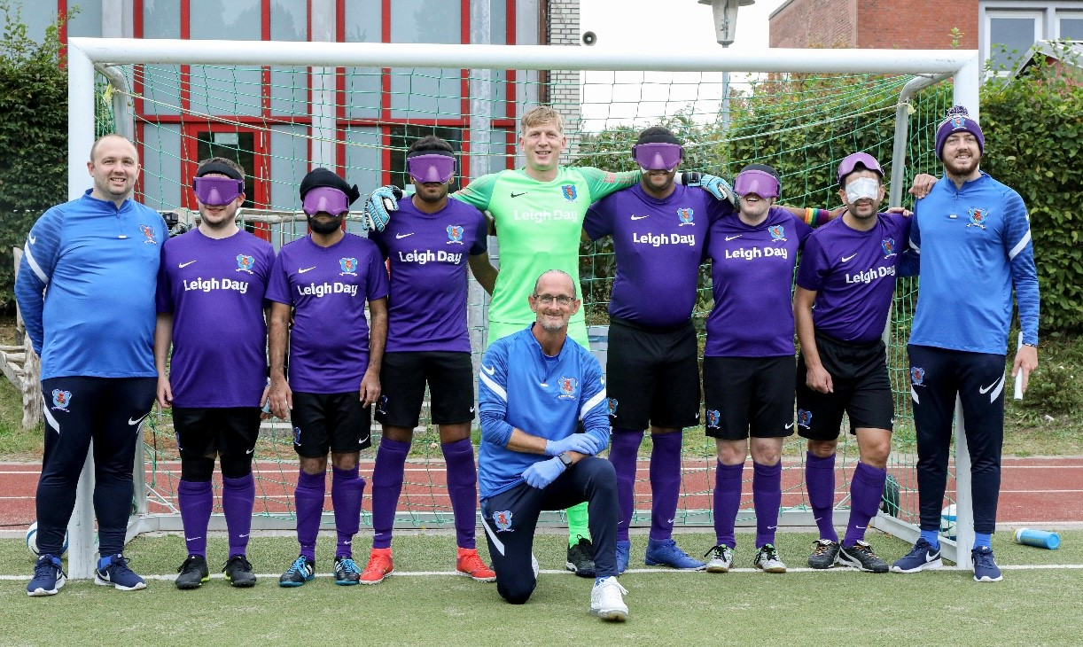 Blind football team want to expand with more players