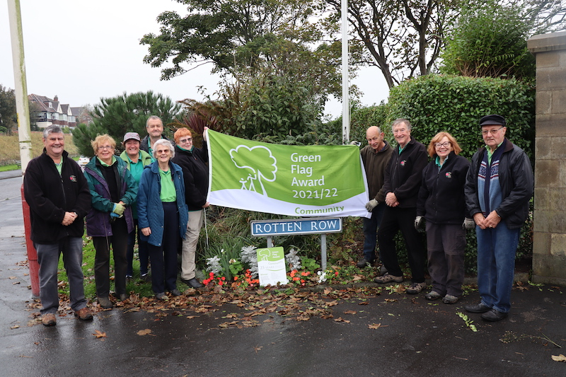 Parks and greenspaces flying the flag for Sefton!