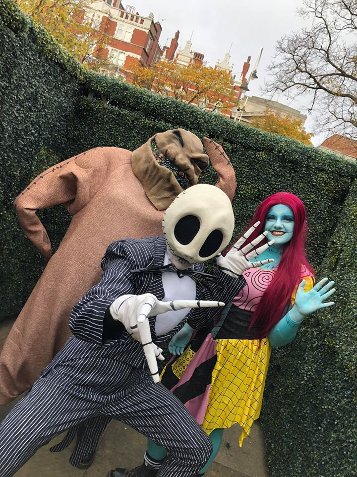 Spooky goings-on at Ormskirk Market