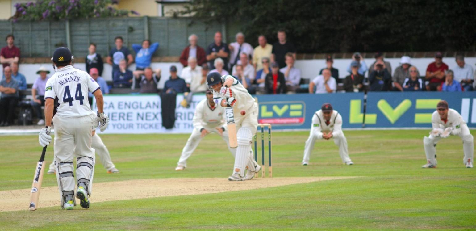 Cricket coup for town