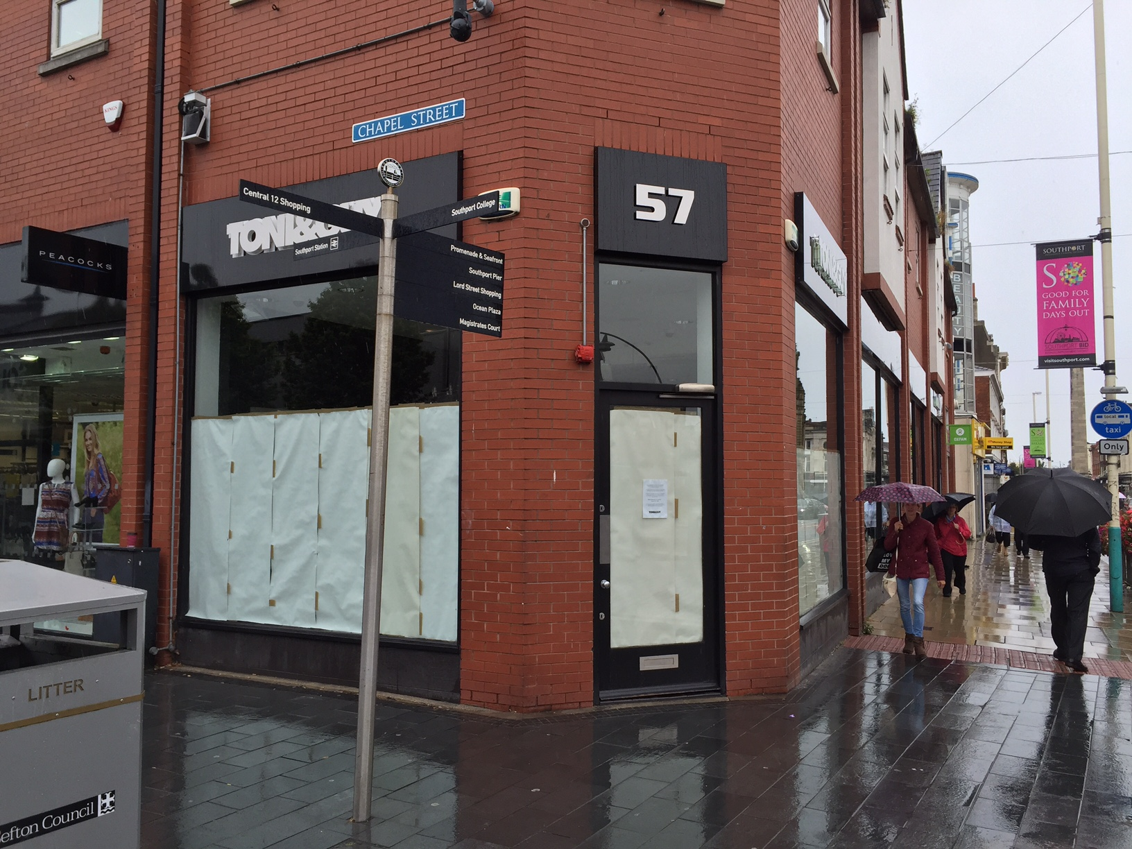 Cut and blow as well known hair salon closes down