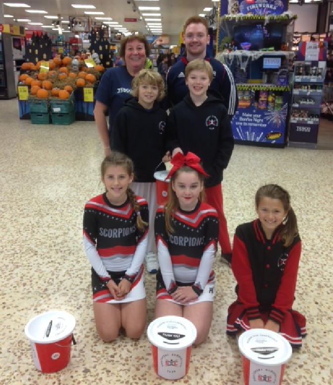 Tesco bag pack puts £1200 in the till for Southport Gym club
