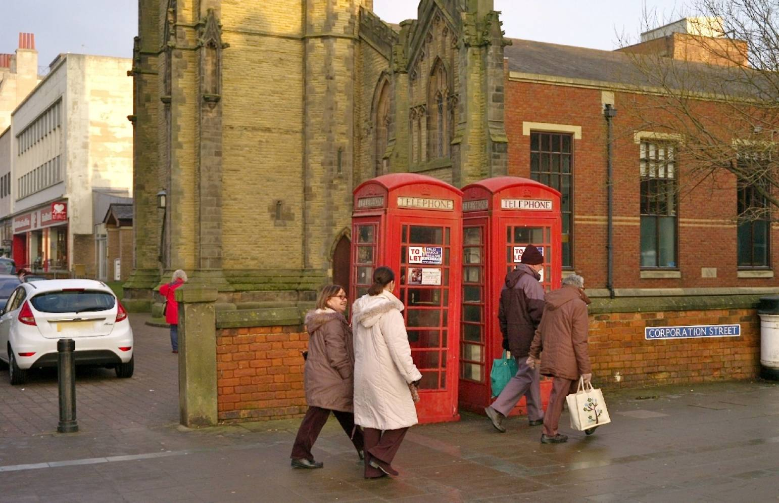 RINGING THE CHANGES FOR PHONE BOXES