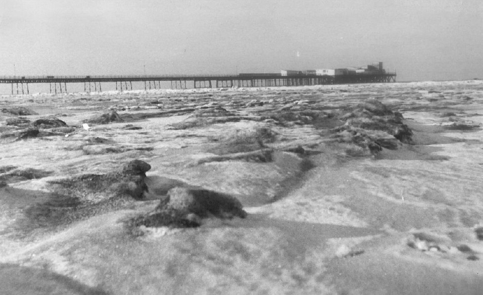 The day the sea froze in Southport!