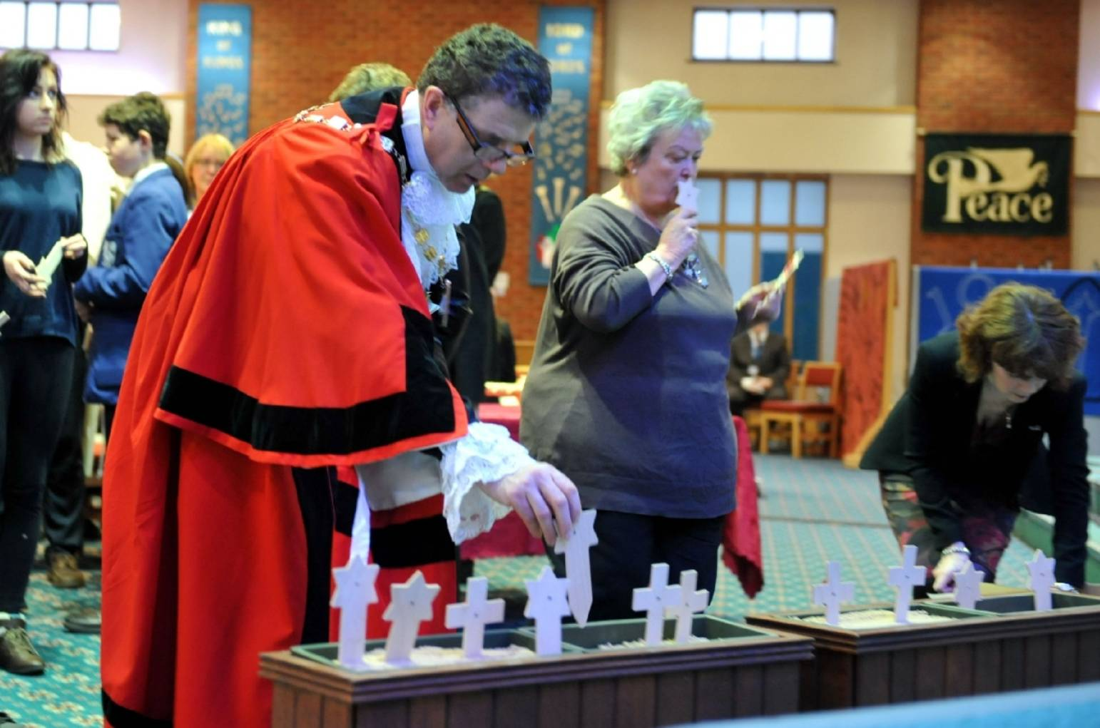 Tributes paid at town's Holocaust Memorial Service