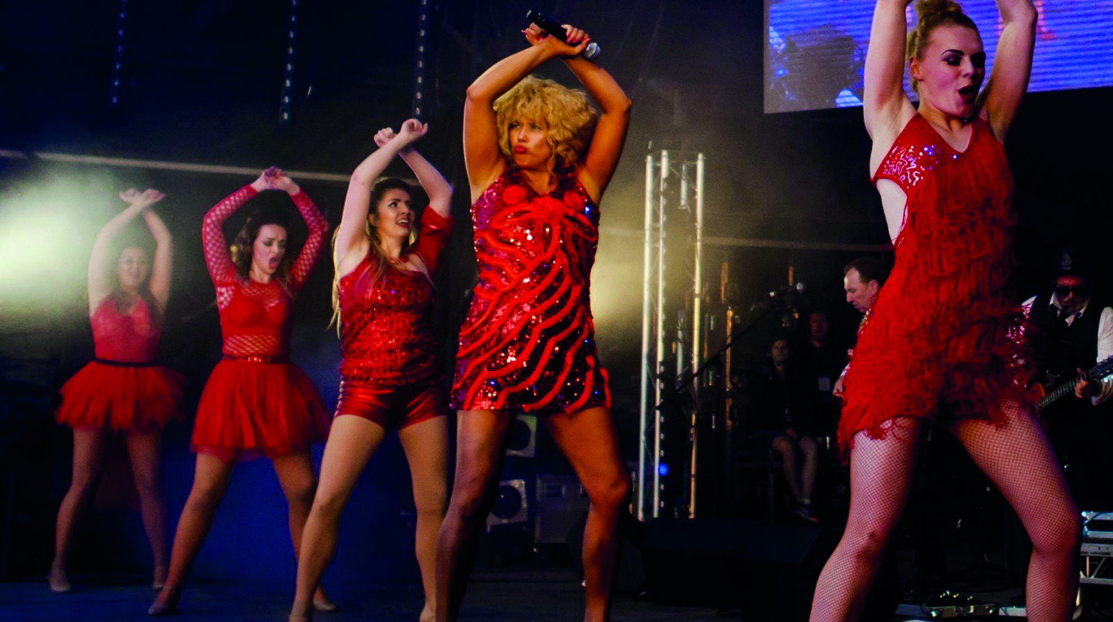 Justine is 'simply the best' as Tina Turner