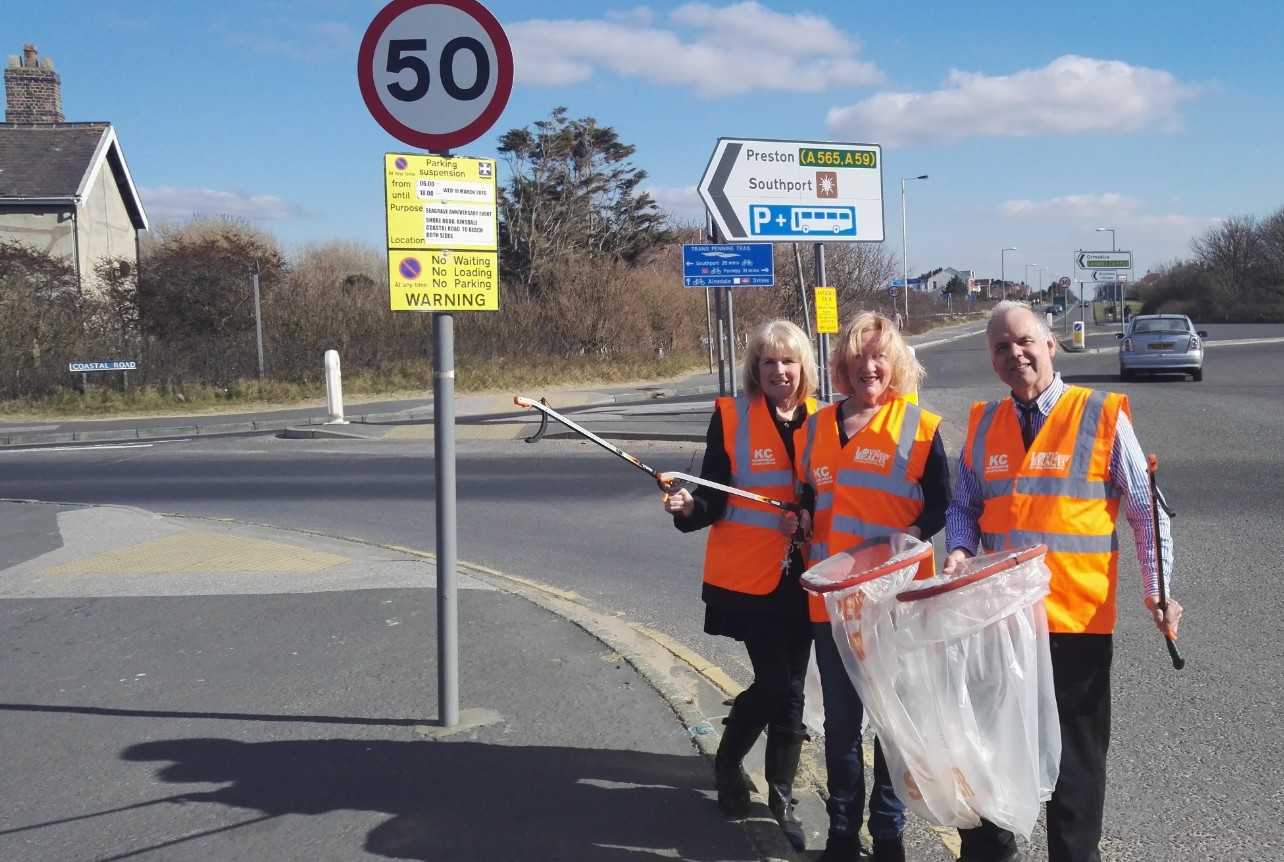 Traffic to be brought to a halt for coastal road clean-up operation