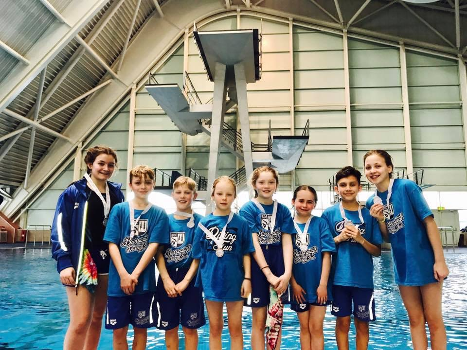 Young divers book their places in national championships