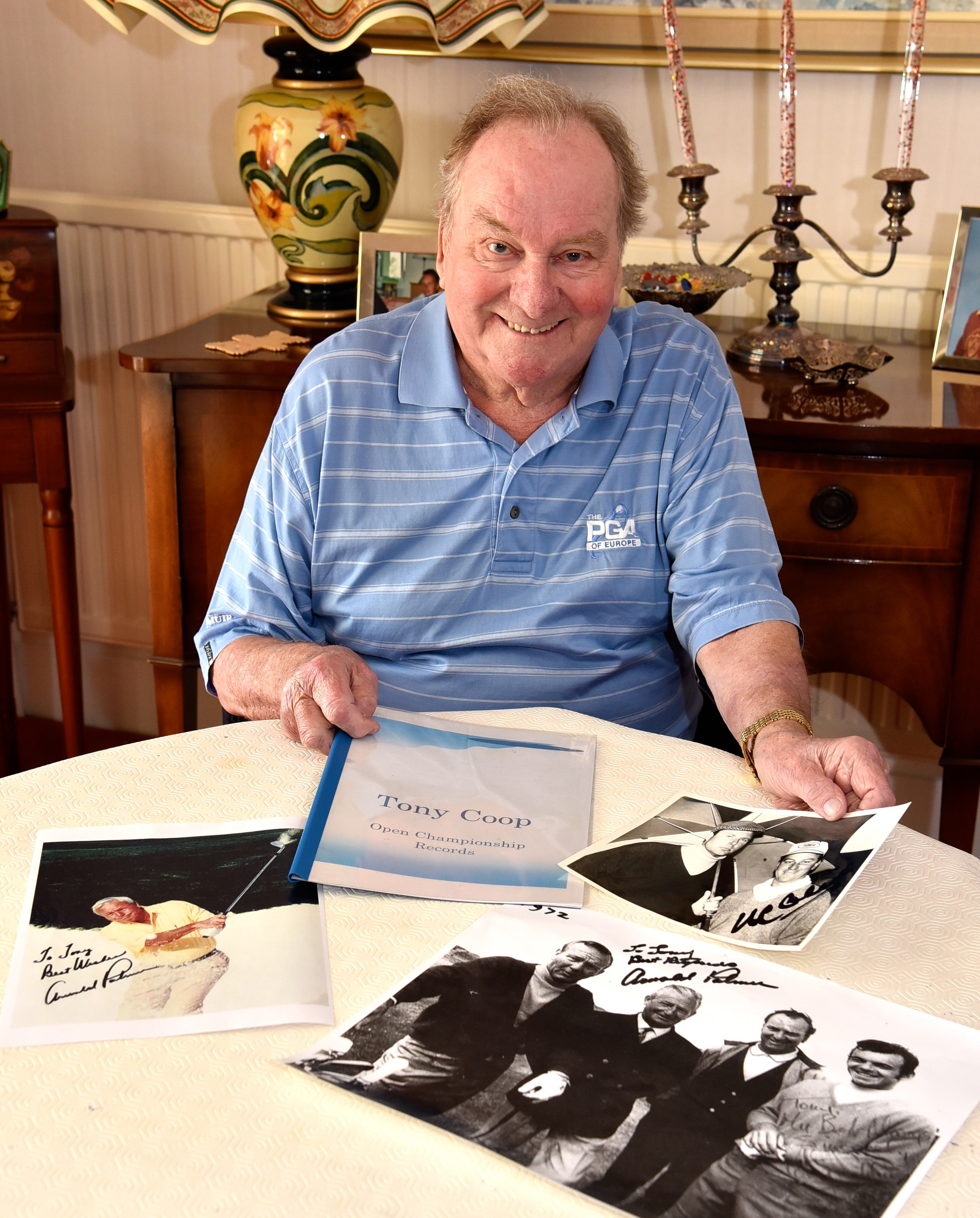 Golfing professional remembers 1961 Open championship in Southport