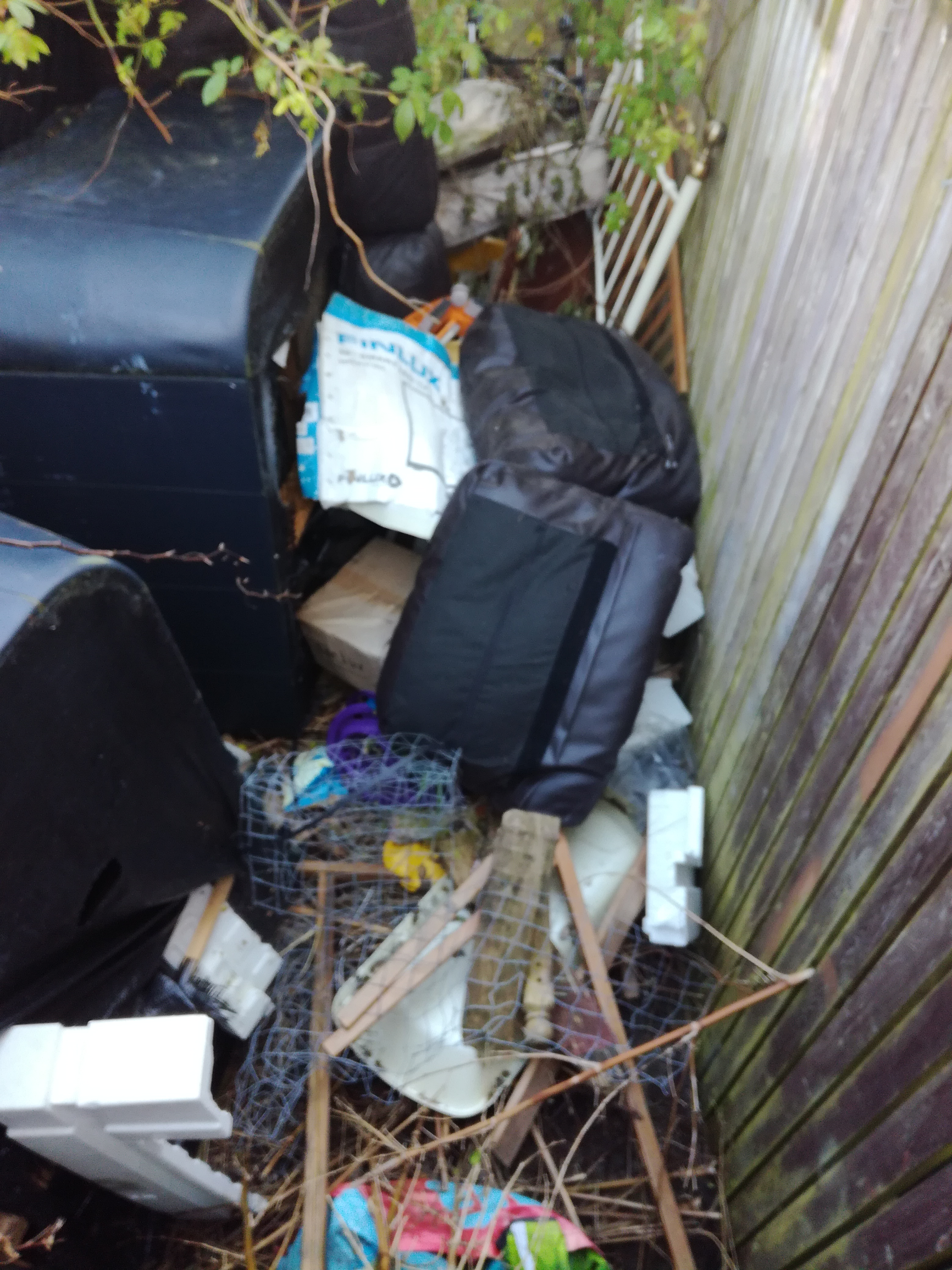 'Council took months to clean up rubbish dumped in our street'