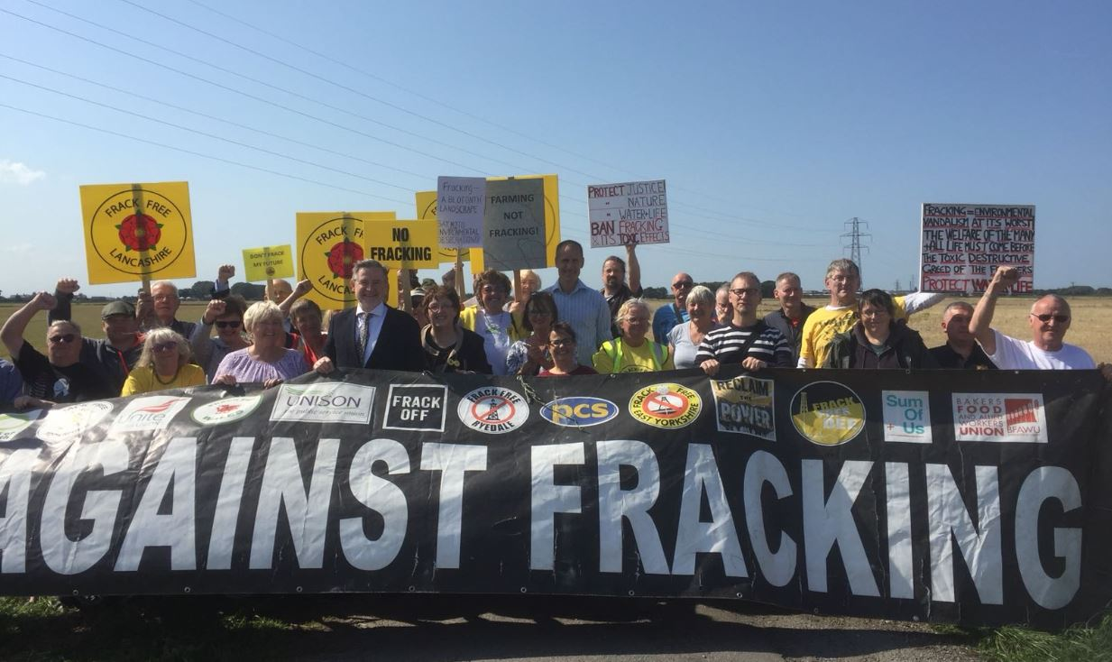 Energy company responds to fracking fears of residents