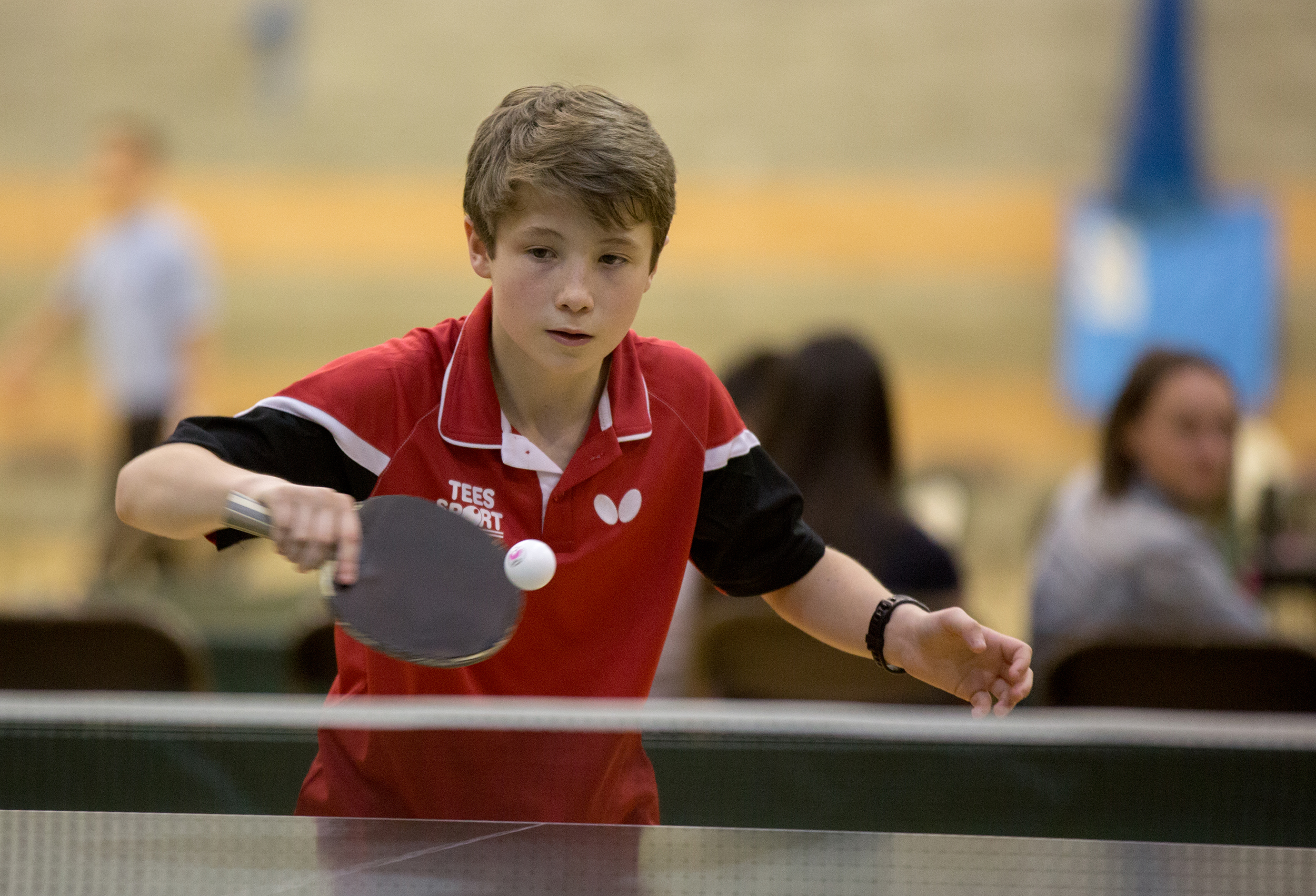 Double medal triumph for Rhys