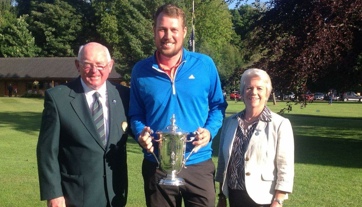 Fighter Sean, 26, beats illness to be crowned County golf champ again