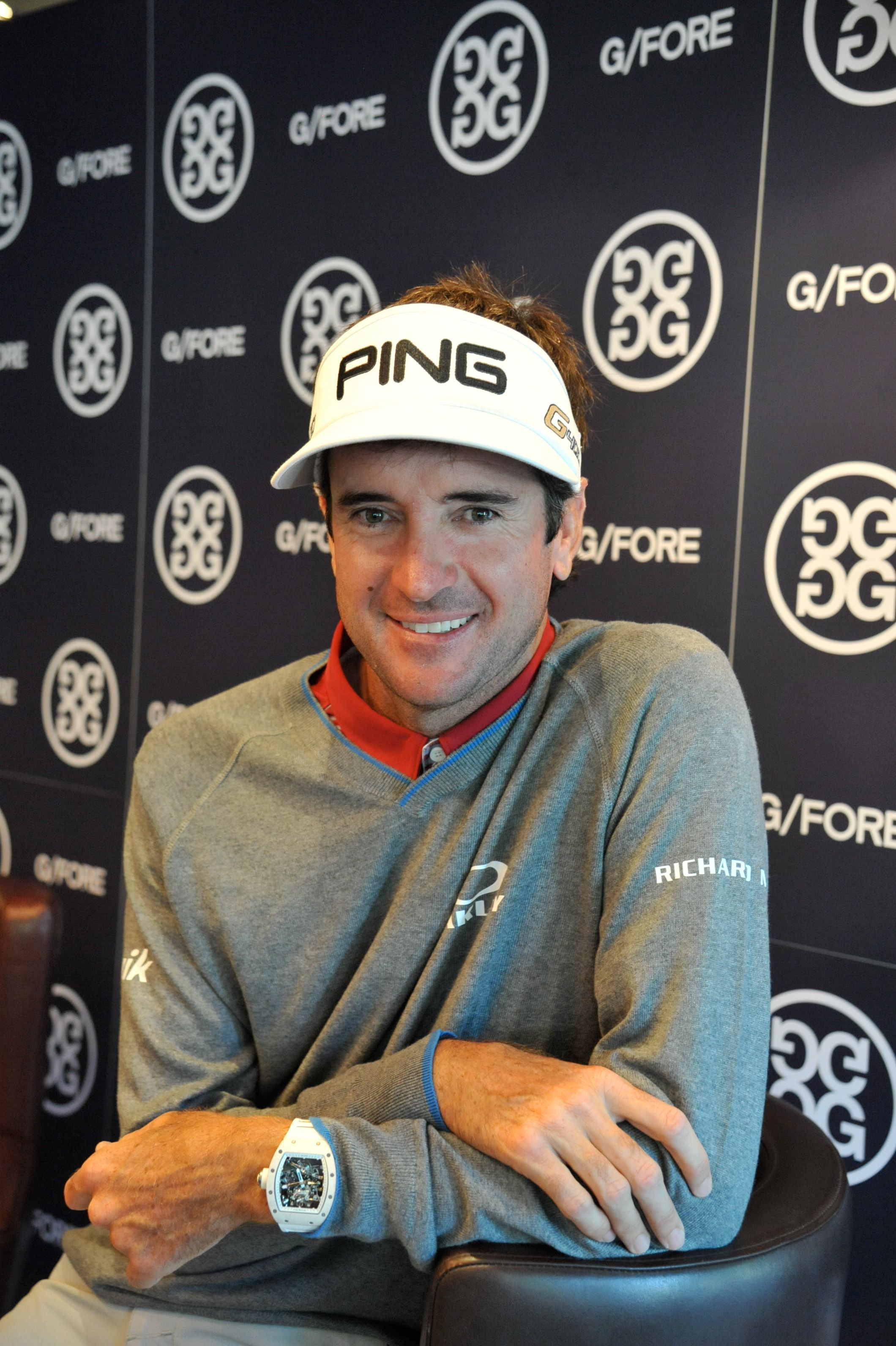 Bubba gives candid interview in Southport during Open week