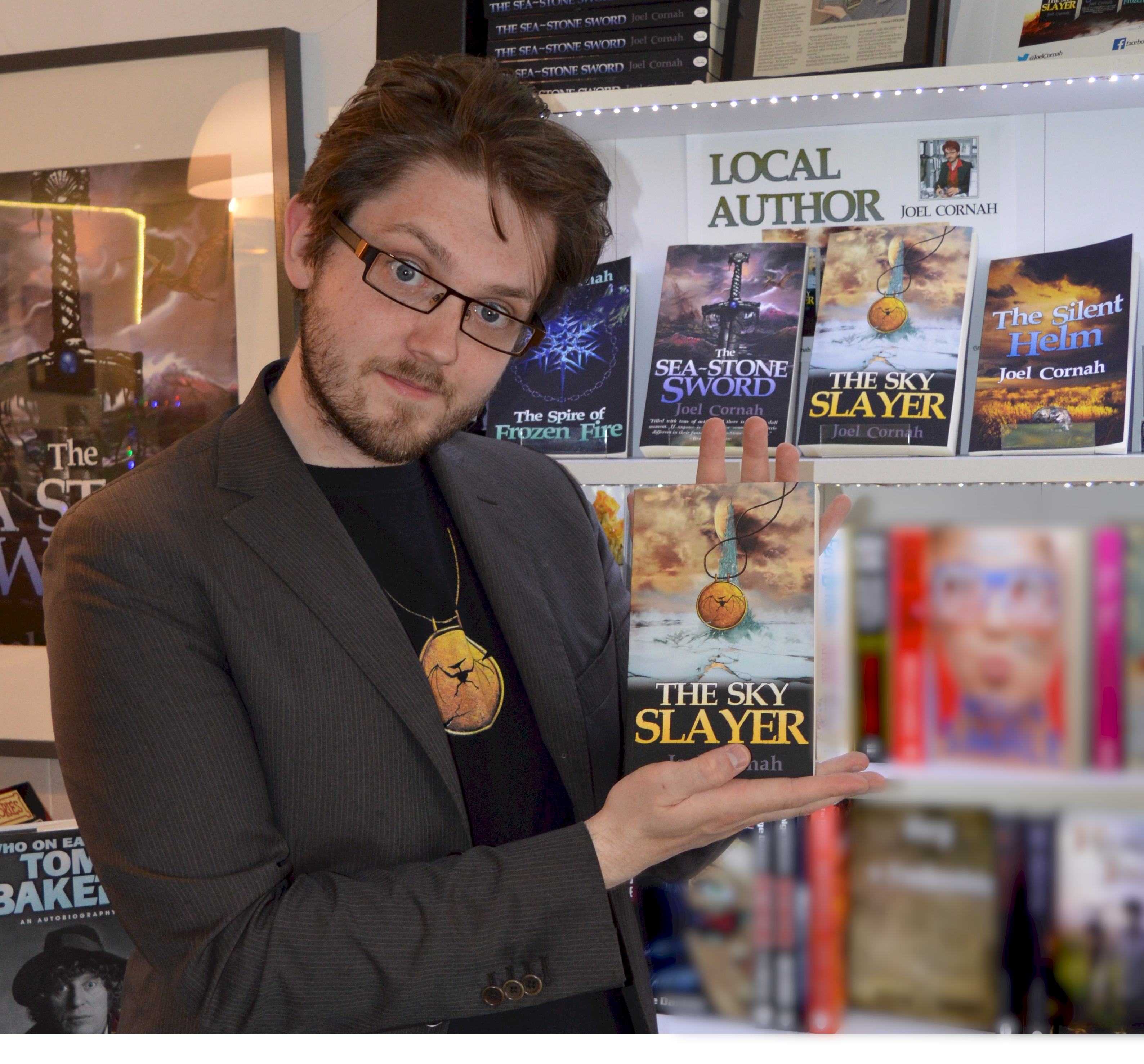 Cafe boss Joel serves up second helping of sci-fi fantasy fiction