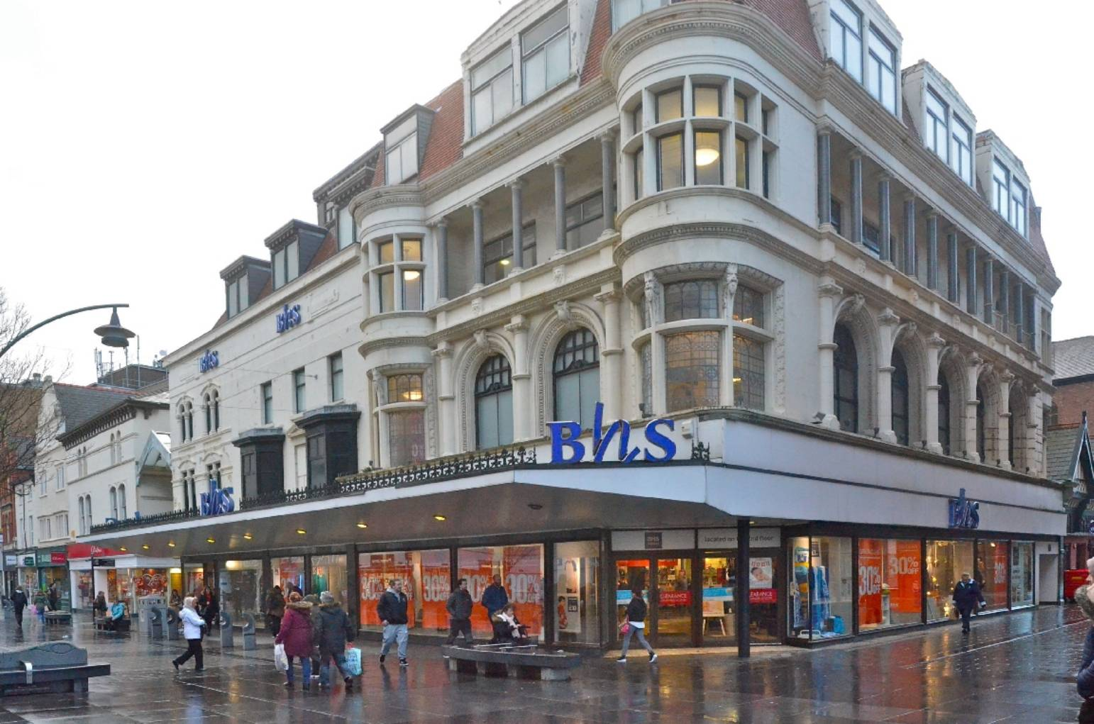 Jobs at risk as BHS store falls into administration