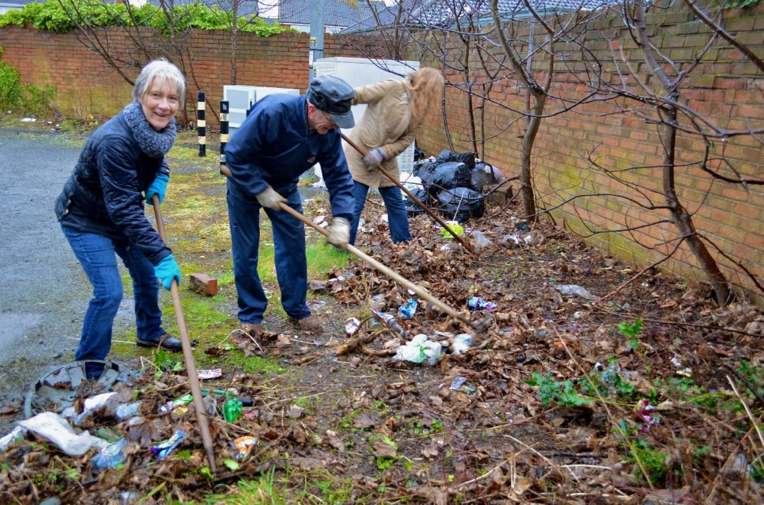 WAR WAGED ON TOWN'S LITTER LOUTS