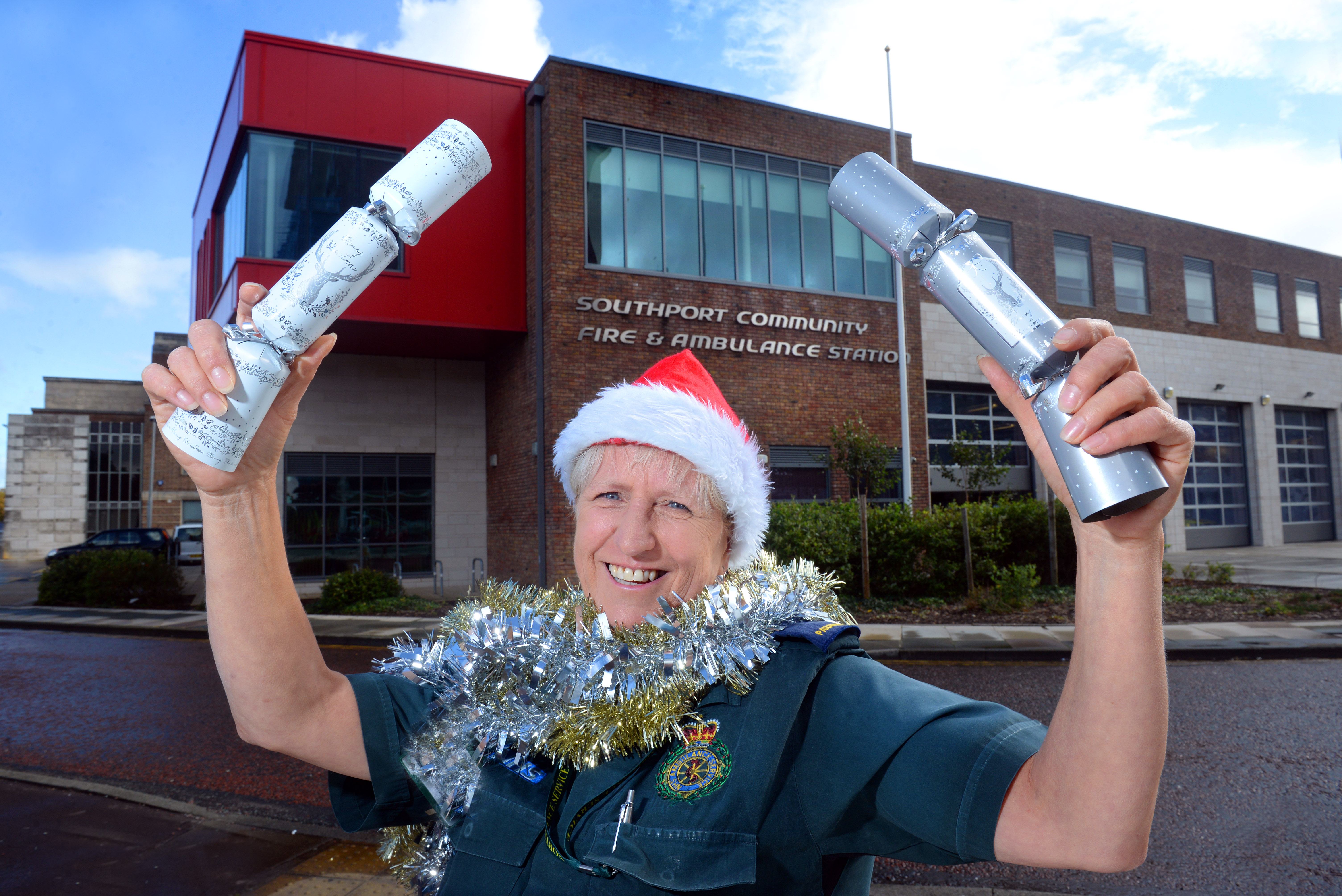 Paramedic reached finals of a national award for her pioneering community work