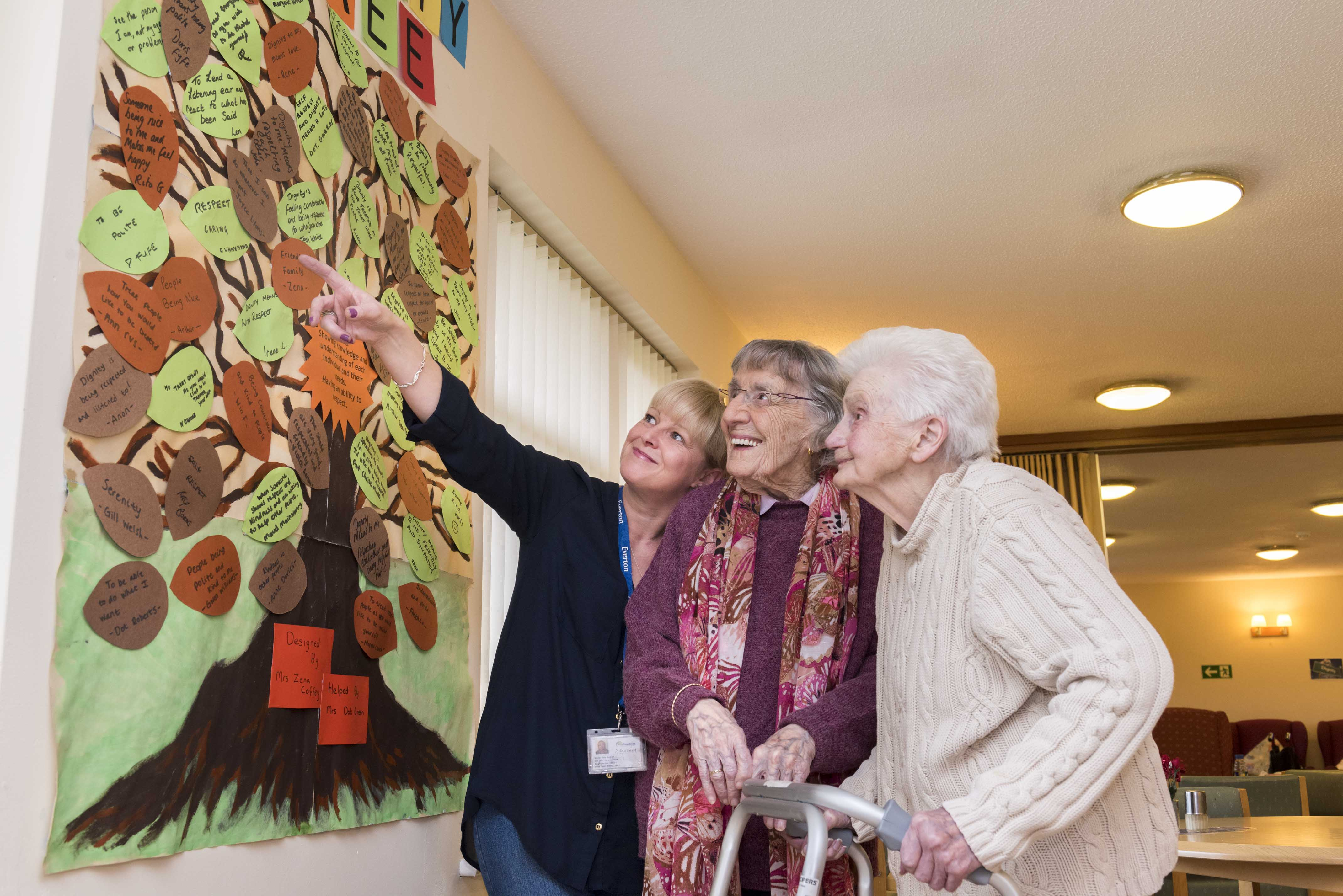 Care home takes part in Dignity Day events
