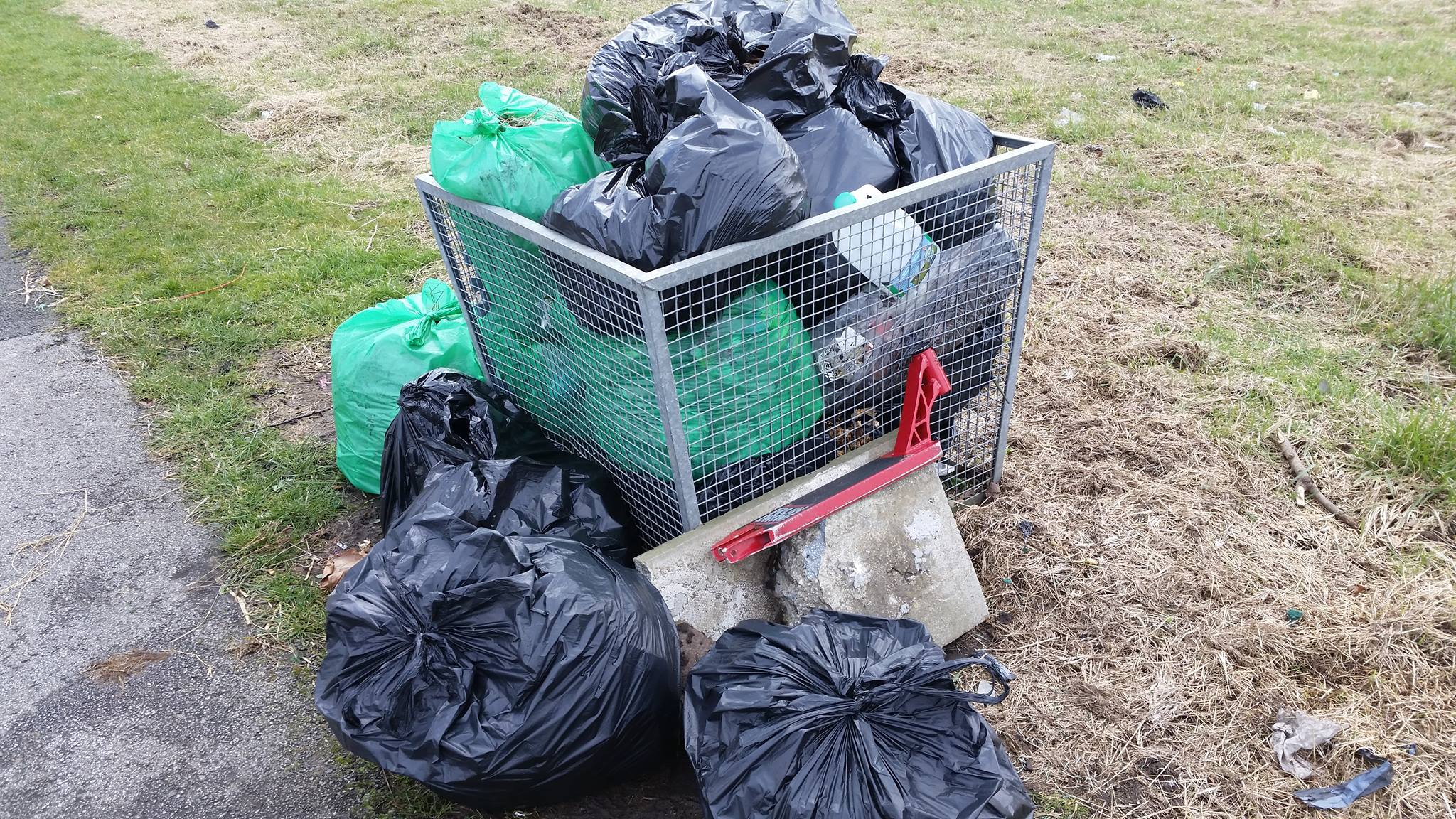 Litter action group get off to a flyer