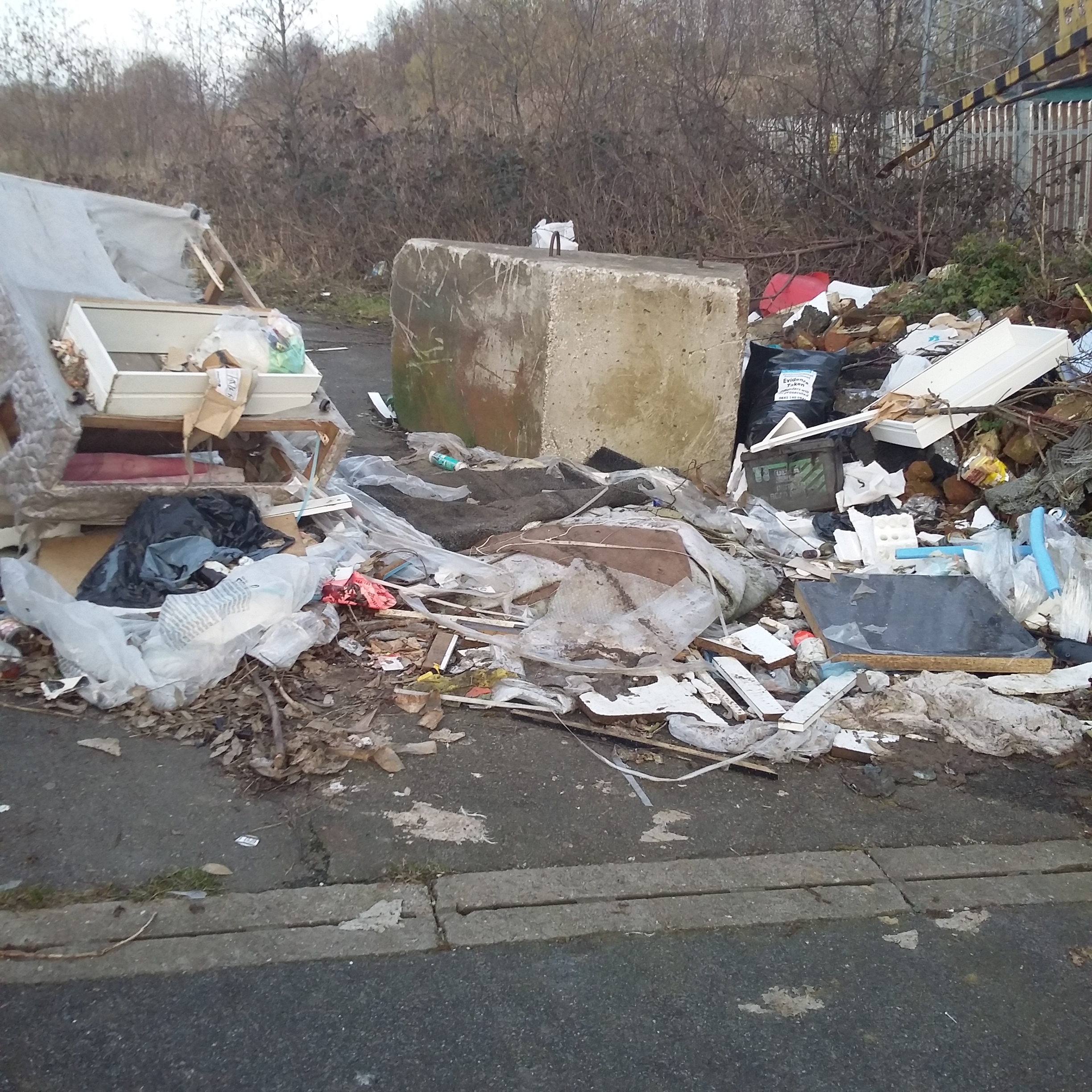 Council acts to clean up mess left by fly-tippers