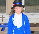 pupil Miah Sinnot came as Mary Poppins